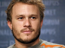 Heath Ledger Kondolenzbuch