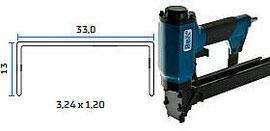Pneumatska klamerica - pneumatski alat za klamerice BeA 33/13-177 EPAL