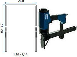 Pneumatska klamerica - pneumatski alat za klamerice BeA 146/80-159