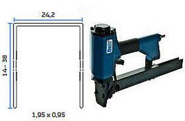 Pneumatska klamerica - pneumatski alat za klamerice BeA 42/38-159