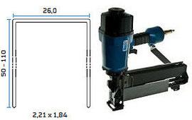 Pneumatska klamerica - pneumatski alat za klamerice BeA 246/110-851E