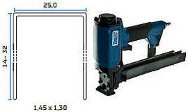 Pneumatska klamerica - pneumatski alat za klamerice BeA 145/32-178