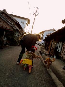 リッチと私のもう一人の姪っ子in JAPAN
