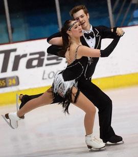 JGP Zagreb 2012: Kahi/Sevan im Short Dance