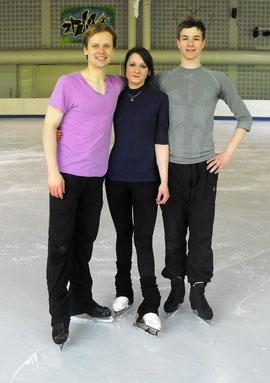 Mark, Kathi und Sevan