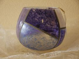 Mi Boule bleu nacré- 25 cm env.