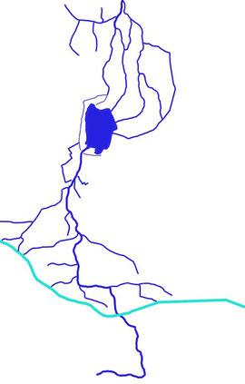 Gewässersystem rund um den Dümmer