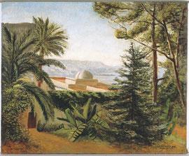 «Villa Abd-el Tif», 1933, 60X73 cm, MG1