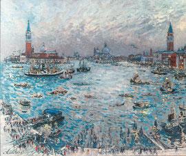 «Le soir à Venise» 1969, 81x100cm, VE155