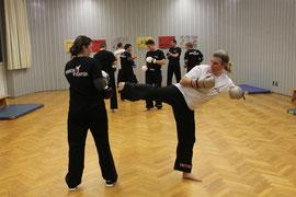 Pointfighting Trainingstrailer - Kampfsport Kickboxen München