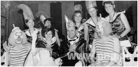 Bei der Pockinger Inthronisation 1964 wurde das Prinzenpaar Antonie Baumgartner und Gustl Plinganser vorgestellt.