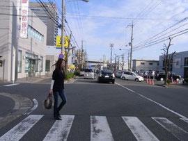 横断歩行者