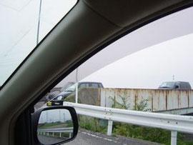 ピラーの死角 交通安全 事故防止