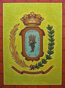 'Escudo de Estepa' - 97 x 130 cms.