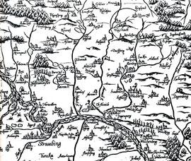 Philipp Apian - Bairischen Landtafeln 1531-1589