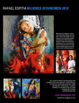 """Rafael Espitia """"WOMEN 2010"""" Exhibitions in New York"""