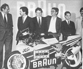 Presentacion oficial del equipo Braun JJCobas BMW