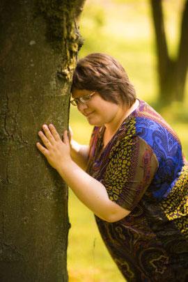 Verbinde dich mit dem Baum
