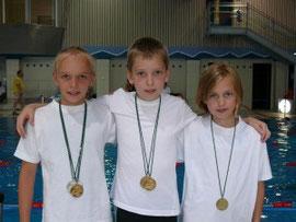 Annika, Jannik und Leah-Marie