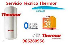 Servicio Técnico Thermor Alicante
