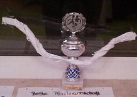 Pokal der Pfadi-Liga beim Fußballturnier des Bezirks Recklinghausen