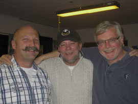 Martin, Jens und Reinhard