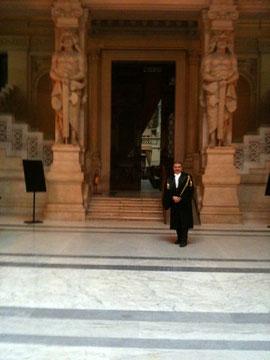 Roma - Palazzo di Giustizia - Cassazione - Ingresso dell'Aula magna