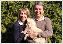Familie Fellmer mit Bernie