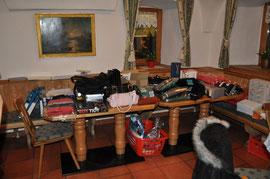 Ein Teil der Tombolapreise - Warenwert ca. 3.000 €