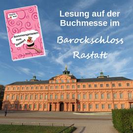 Buchmesse, Barockschloss Rastatt, Regina Wall, Sommersprossen zum Dessert
