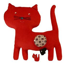 Hippybottomus Suisse  Pädagogische Spielzeug Katze