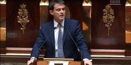Manuel Valls prononce le discours de politique générale de son Gouvernement