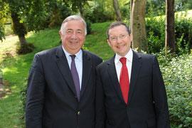 Gérard Larcher: les réformes, oui, mais pas sans la justice...
