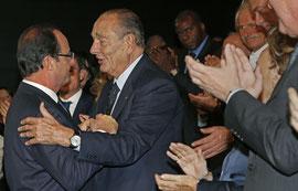 Jacques Chirac à la remise de prix de la Fondation Chirac, jeudi 21 novembre