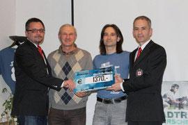 A. Striccher, BGM F. Höfer, T. Jaklitsch, A. Jaklitsch
