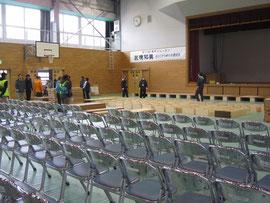 釜石高校体育館