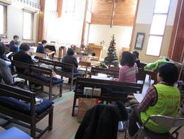 12月9日新生釜石教会
