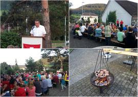 Bundesfeier mit Festredner Regierungsrat Urs Hofmann