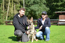Meine Sportsfreunde vom Rettungshundeteam & Bacima