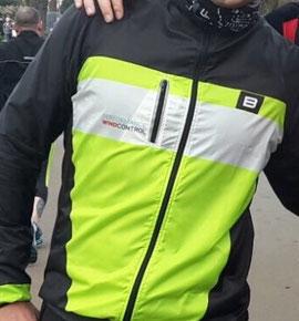 Die Greenline Laufjacke von Biehler Sportswear