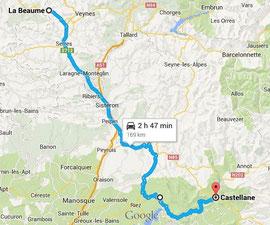 La Beaume - Castellane