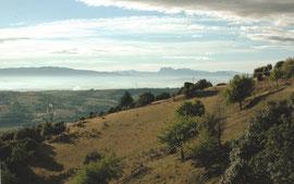 Le Vercors, vu depuis Combette