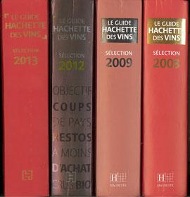 Quatre éditons, 5 vins retenus sur 5 millésimes en 6 années de parution