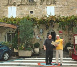 LC et M. Marc Prunières (Photo © C. Civale)