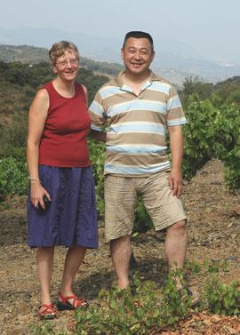 M et Mme Inada au Rec d'en Cruels