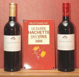 Cuvée du Casot & Cuvée Miquelet, millésime 2005