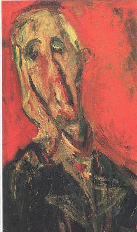 M Racine (détail) vu par Chaïm Soutine