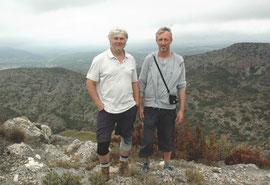 Aan de top van de Corbières, boven Coume Majou