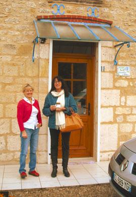 Jocelyne et Christine ... au pied levé
