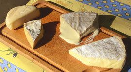 Trois fromages de Brie, un de l'Yonne